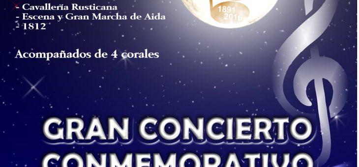 Concierto Conmemorativo de nuestro 125 Aniversario